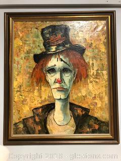 Framed Acrylic Oil Painting