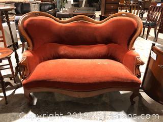 Antique Victorian Style Sofa