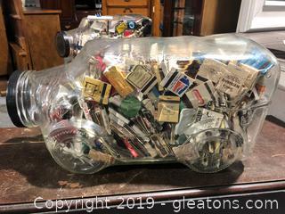 Old fashioned Candy Jar Large B