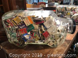Old fashioned Candy Jar Large A