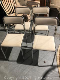 Set of Four Vintage Chairs