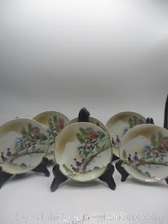 Vintage Hand Painted Plates