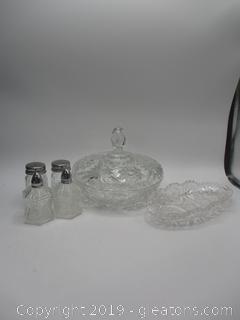 Glass Shaker Lot