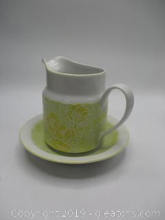 Ames Japan Small Pitcher + Bowl