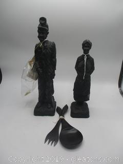 Hand Carved Couple