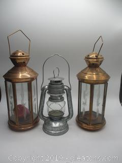 3 Decorative Lantern