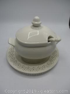 Off White Ceramic Lot