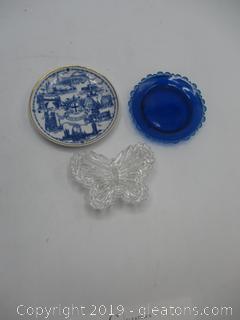 Small Plates & Trinket Box