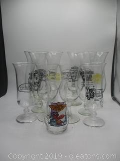12 Hurricane Glasses