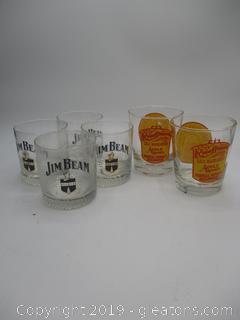 Bourbon Glasses Set of 6