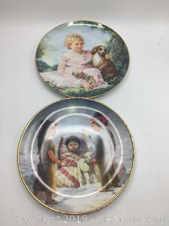 Collectors Plate Lot