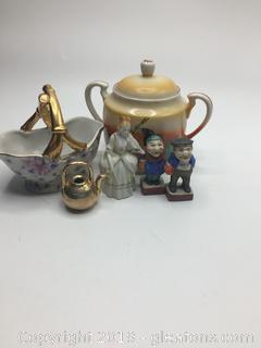 Porcelain Lot A