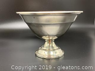 Sterling Pedestal Bowl