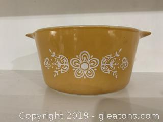 Butterfly Gold Pyrex Cinderella