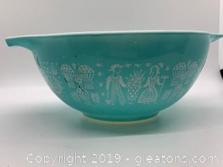 Butterprint Turquoise Nesting Bowl