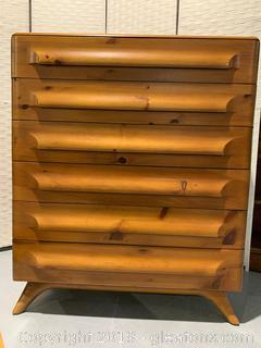 Franklin Shockey Co. Highboy Dresser