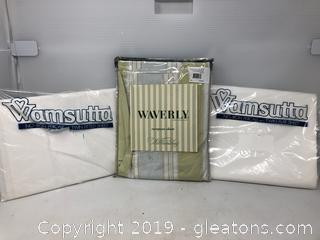 Brand New Lot of Sheets and Sham