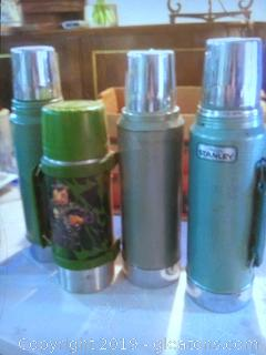 Vintage Thermos Lot (4)