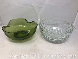Lot of Two Bowls