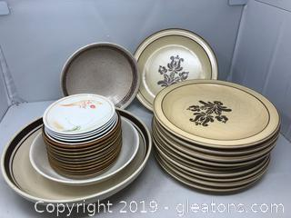 Vintage China with Phfaltzgraf and Mikasa and Few Mixed Others