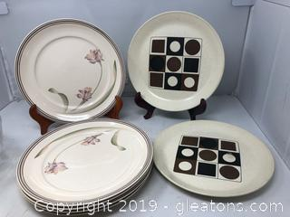 Lot of Vintage Plates and Kelto Craft Ireland  Johnston Australia