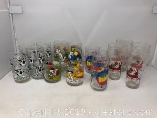 Vintage Glass Lot (15)