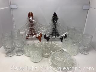 Crystal  Lot (21Pc)