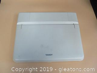 Vintage Tandy 1110 HD Notebook Computer