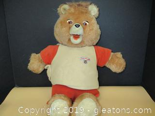 Vintage Teddy Ruxpin 3