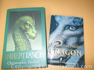 2 Christopher Paolini Books
