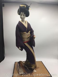 Vintage Japanese Geisna Doll