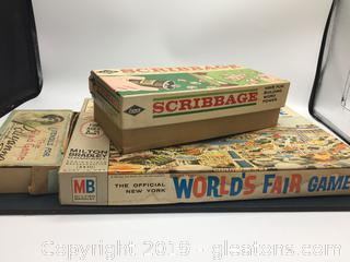 Vintage Game Boards Lot B