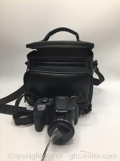 Canon Powershot 5 x 530 HS with Leather Bag