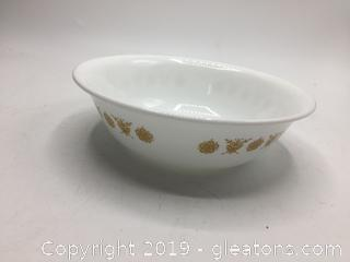 Corning Butterfly Gold Bowl