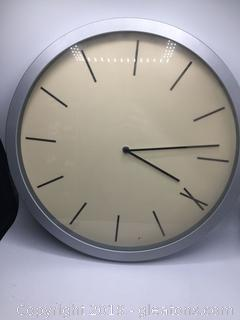 Vintage Roman Numeral Wall Clock