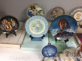 Collectors Plate Lot 1