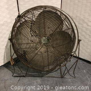 Vintage Metal Fan