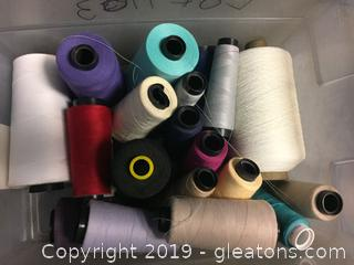 Sewing Thread Lot A