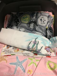 Kids Character Sheets + Pillowcases