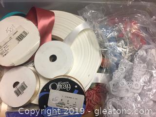 Sewing Trim Lot