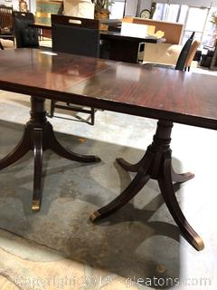 Duncan Phife Dining Table with Three Leafs