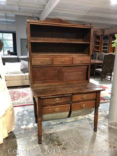 Antique Sow Hutch