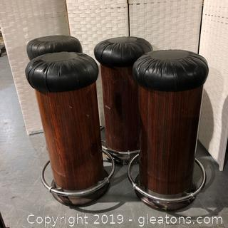Lot of Vintage Bar Stools