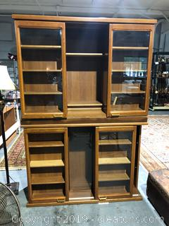 Solid Wood Japanese Curio Cabinet