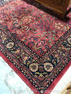 Maharajent Handmade New Zealand Wool Oriental Area Rug