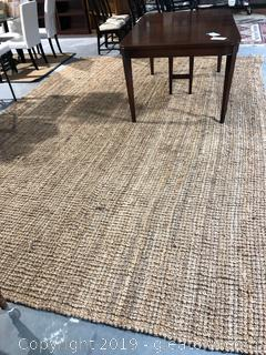 Very Large Natural Woven Rug