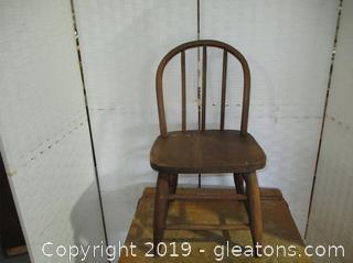 Old School House Child's Chair