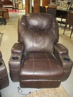 Leather Massage Chair A