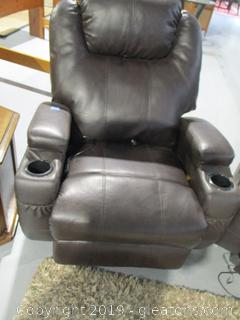 Leather Massage Chair B