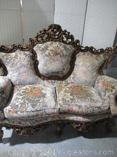 Rococo Love Seat